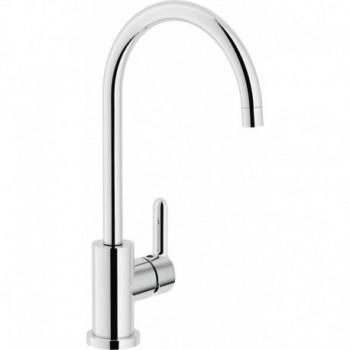ABC Miscelatore rubinetto monocomando lavello cromato bocca girevole 360 gradi AB87133CR - Per lavelli