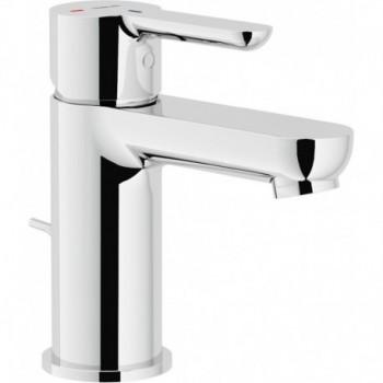 ABC Miscelatore rubinetto monocomando lavabo ECO con scarico cr ABE87118/1CR