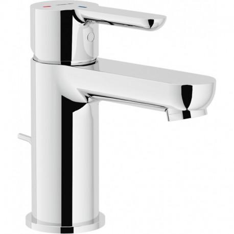 ABC miscelatore monocomando lavabo ECO con scarico cr NOBABE87118/1CR
