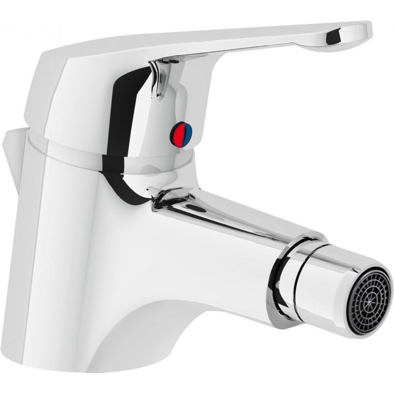 HERA Miscelatore rubinetto monocomando bidet cr HE24119/1CR - Per bidet
