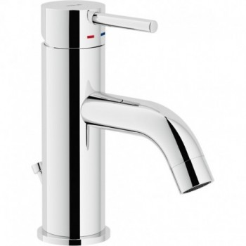 """LIVE Miscelatore rubinetto monocomando lavabo scarico ø1.1/4"""" cr LV00118/1CR"""