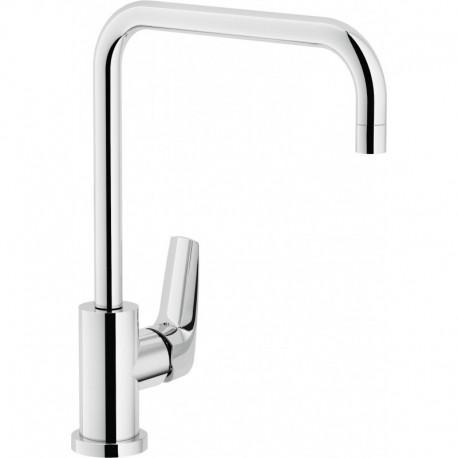 NOBI Miscelatore rubinetto monocomando lavello CANNA U GIR. cr NB84134CR