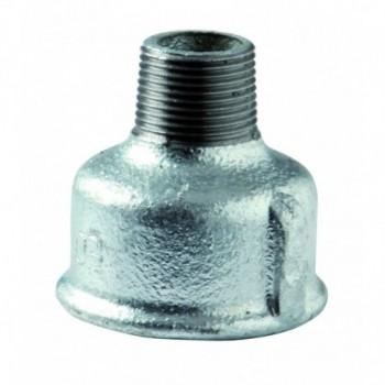 """246 manicotto di riduzione m/f ø1.1/4""""x3/4"""" zinc. eo 24605064 - In ghisa malleabile zincati"""