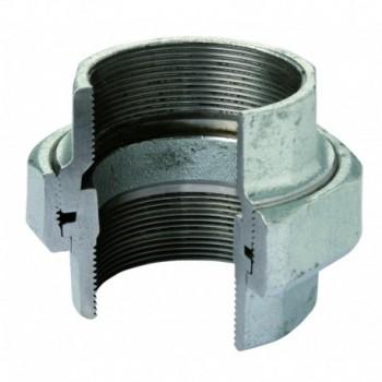 """340 bocchettone dir. s.conica f/f ø1"""" zinc. eo 34005005 - In ghisa malleabile zincati"""