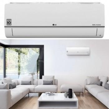 Climatizzatore condizionatore Libero Plus R32 unità interna parete per mono e multi split, colore bianco, capacità nominale: raffredd. 2,5 kW riscald. 3,2 kW. LGEPC09SQ.NSJ
