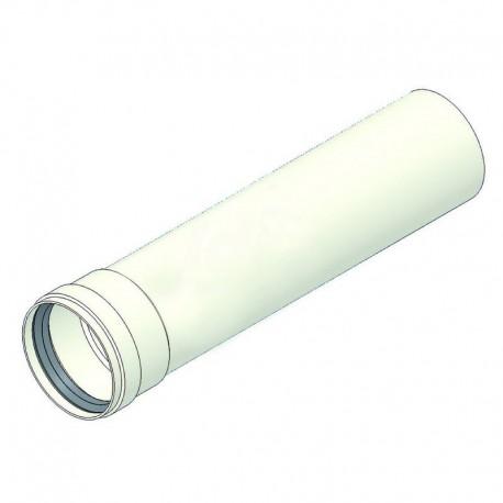 Prolunga alluminio L.1000 d=80 mf con guarnizione TCG00000051001