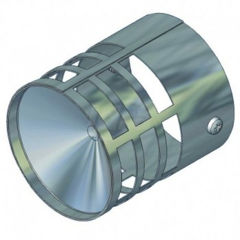 Terminale scarico fumi acciaio inox d=60 TCG00000051068
