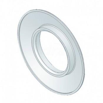 Rosone coprimuro in gomma bianco epdm d=60 TCG00000051069