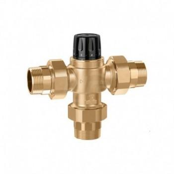 """5231 Miscelatore rubinetto termostatico regolabile, per impianti centralizzati. Corpo in lega antidezincificazione ø1.1/2"""" 35..."""