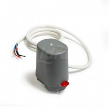 R473M Testa elettrotermica normalmente chiusa con microinterruttore di fine corsa, per valvole termostatizzabili, collettori ...