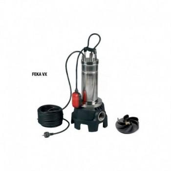 FEKA VX 550 M-A Pompa centrifuga sommergibile in acciaio inossidabile con girante a vortice liquido in tecnopolimero DAB103045000