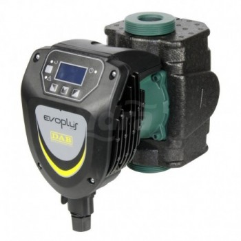 EVOPLUS 60/180 M Circolatore elettronico serie evoplus 60/180 con interasse 180mm e attacchi maschio dn 11/2 a 220volt. DAB60150939