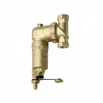 """Filtro defangatore magnetico autopulente per circuiti idraulici. Completo di rubinetto a sfera di scarico con attacco portagomma ø1""""FF RBM35480600"""