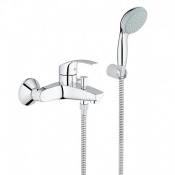 EUROSMART NEW 33302 rubinetto per vasca con set doccia per bagno e doccia GRO33302002