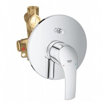 EUROSMART NEW 33305 Miscelatore rubinetto monocomando per vasca-doccia 33305002