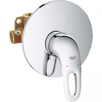 EUROSTYLE NEW 33635 Miscelatore rubinetto monocomando per doccia 33635003 - Gruppi per docce