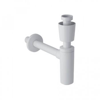 Sifone per lavabo con placca ABS CR GEB151.035.21.1