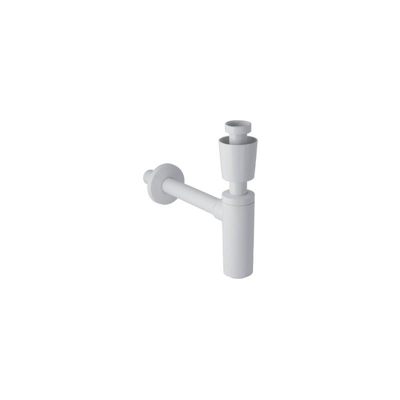 Sifone per lavabo con placca ABS CR 151.035.21.1