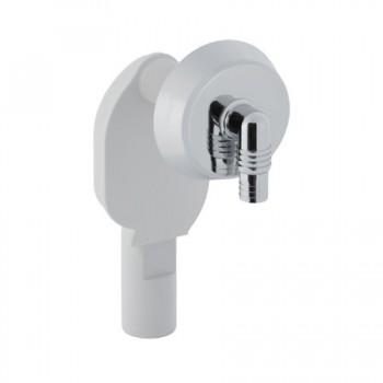 Sifone incasso PP ø40 per lavatrice / lavastoviglie bianco GEB152.234.11.1