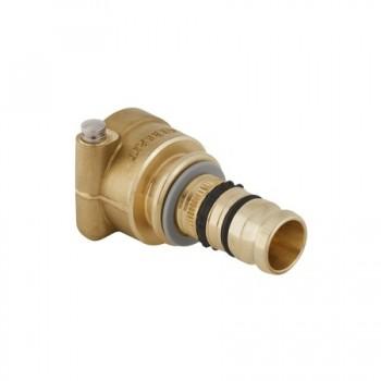 Mepla raccordo diritto ottone ø20mm X collettore incasso COMPACT 612.425.00.5 - Collettori di distribuzione