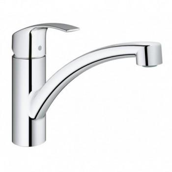 EUROSMART NEW 33281 Miscelatore rubinetto monocomando per lavello 33281002 - Per lavelli