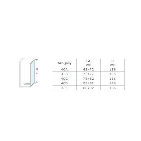 Box Doccia Brio.Brio Lato Fisso 66 70 Spec Natur Bn Per Box Doccia Box40p01st1