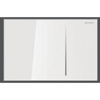 SIGMA70 Placca di comando idropneumatica per UP720 colore vetro bianco GEB115.625.SI.1