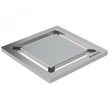 Griglia Design Quadrato inox spazzolato GEB154.312.00.1
