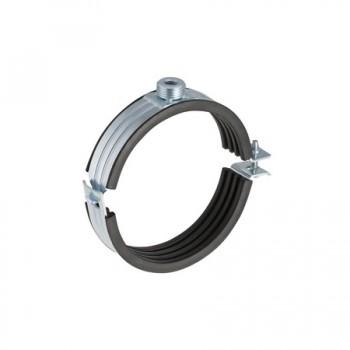 Collare acciaio zincato ø160+inserto disaccoppiante 315.812.26.1 - Collari/Staffe/Mensole