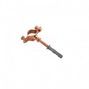 Collare rame per fissaggio tubo rame ø35mm 2703500CU - Collari/Staffe/Mensole
