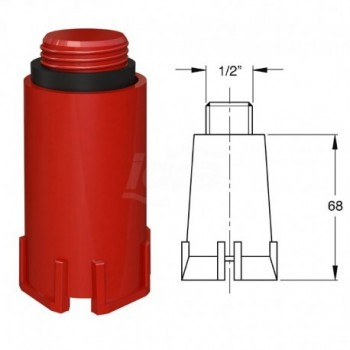 MULTI-TEST tappo per collaudo tubazioni BON9888PP12B6
