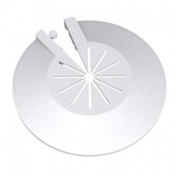 VELOX rosetta apribile per radiatori con chiusura a scatto 9930DN12B0 - Accessori in plastica