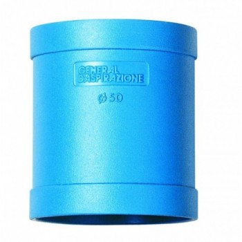 Manicotto scorrevole ABS GDA Ø 50 mm blu GEN0701024