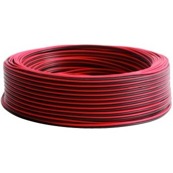 Piattina 2x1 mmq rosso/nero mt. 100 GEN0721000