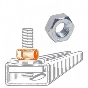 D10 Dado Esagonale Normale M10 162700 - Collari/Staffe/Mensole