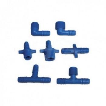 SB-TEE-PL raccordo A TEE 90° C/PG per tubo flessibile DTG908012