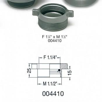 """004410 riduzioni Pp contraria ø1.1/4fx1.1/2""""m LIR8.4410.02"""