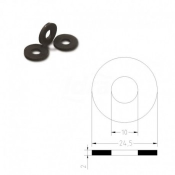 "Guarnizioni gommatela ø3/4""x2 X Raccordo carico lavatrice TIR102600GT"