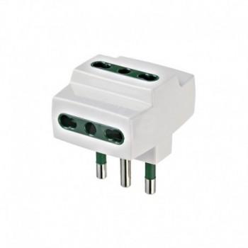 Adattatore multiplo S17+3P17/11 bianco DVEVIW00321.B