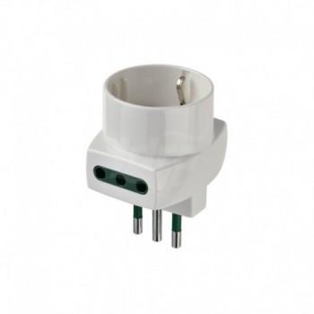 Adattatore multiplo S11+2P11+P30 bianco DVEVIW00322.B