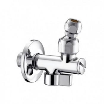 360/2 rubinetto sottolavabo cromato ø3/8x10 con filtro PIA0360B300CR