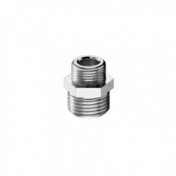 "39/6 nipple ottone cromato m/m ø1/2""x3/4"" PIA0039R450CR"