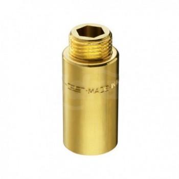 "51/4 prolunga ottone cromato m/f ø1/2"" h.30mm PIA00514030CR"