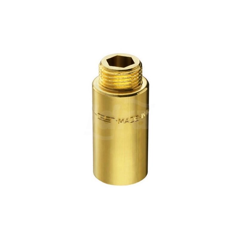 "51/4 prolunga ottone cromato m/f ø1/2"" h.30mm 00514030CR - In ottone filettati"