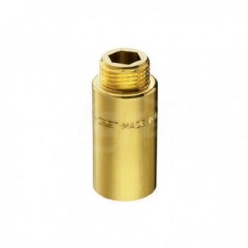 "51/5 prolunga ottone cromato m/f ø1/2"" h.40mm PIA00514040CR"