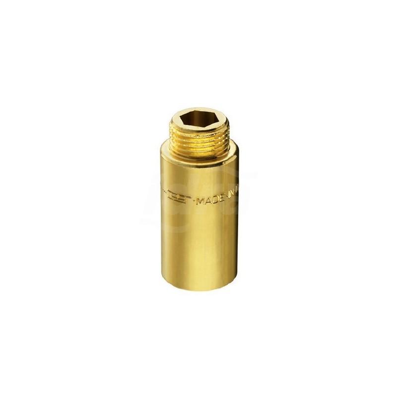"""51/5 prolunga ottone cromato m/f ø1/2"""" h.40mm 00514040CR"""