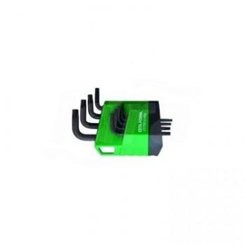 LT/700 - Set chiavi a brugola TX a braccio corto, 8 pezzi UNF0701 160 004 01