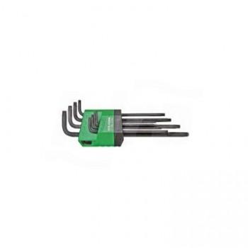 LT/700L - Set chiavi a brugola TX a braccio lungo, 8 pezzi UNF0701 160 003 01