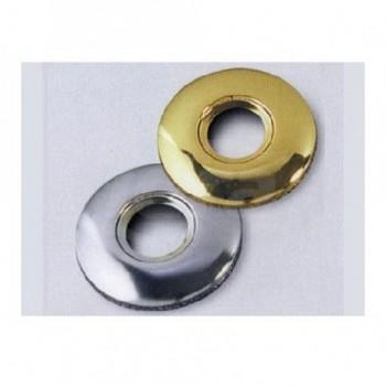 """Rosone per rubinetti tipo bombato in ottone cromato. Misura: 3/8 430100OC3/8"""""""
