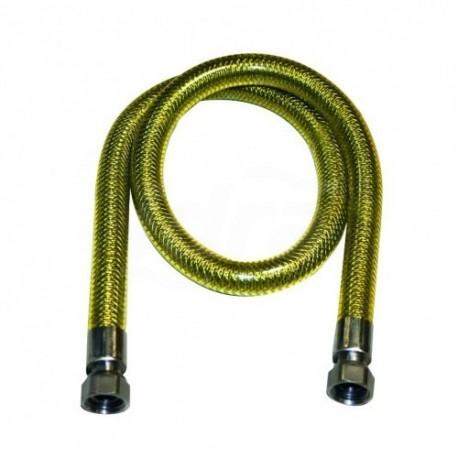 Flessibile estensibile uni 7129 3/4 mf 220/420 con guaina bianca 00000016108 - Flessibili inox per gas